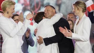 Beata Szydło skomentowała wynik Andrzeja Dudy