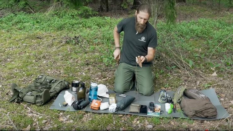 W lasach wyznaczono strefy dla miłośników bushcraftu i survivalu. Nie muszą już obawiać się kar