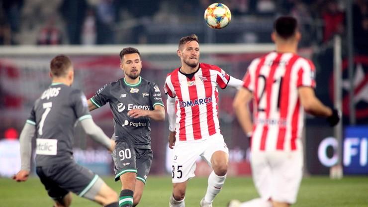 PKO Ekstraklasa: Gol w doliczonym czasie. Cracovia wygrała z Lechią