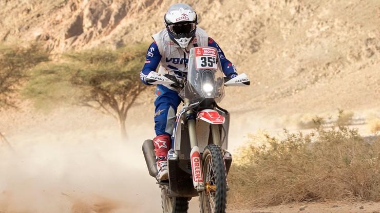 Rajd Dakar: Giemza awansował na 17. pozycję