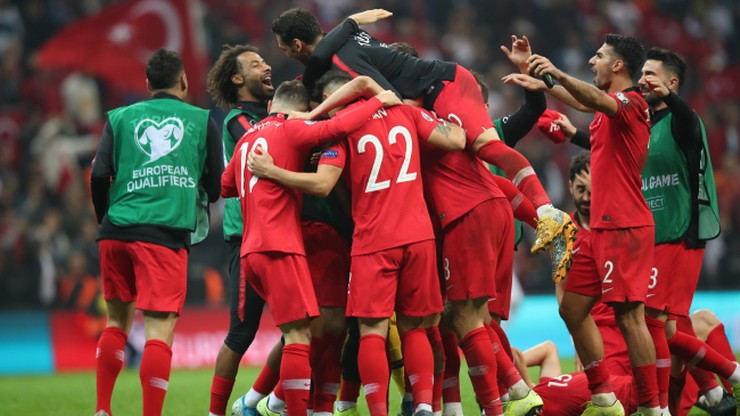 El. Euro 2020: Turcja z awansem!