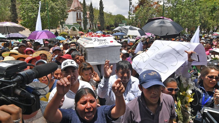 Opozycja nie uznaje wyników wyborów w Boliwii. Bunt w policji