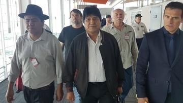 """Prezydent Boliwii zapowiada aresztowanie Moralesa. """"Nigdy niczego nie respektował"""""""