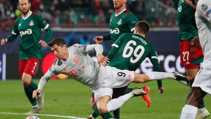 Liga Mistrzów: Sędzia meczu Lokomotiw – Bayern miał rację. Robert Lewandowski nie może mieć do niego pretensji