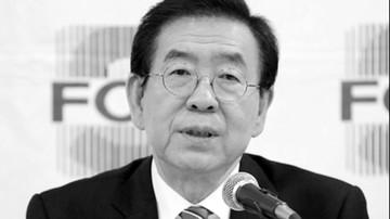 Burmistrz Seulu znaleziony martwy