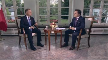 """""""Pokazał, że  polskie państwo jest ważniejsze niż różnice w poglądach"""". Duda o Kwaśniewskim"""