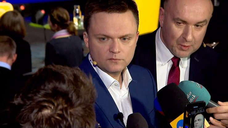 """Hołownia rozpoczął cykl spotkań #RozmowyPolaków. """"Praworządność, bezpieczeństwo, ustrój"""""""