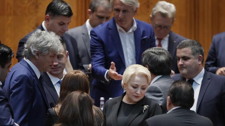 Rumuński rząd upadł po głosowaniu ws. wotum nieufności