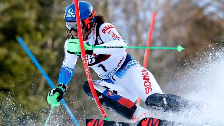 Alpejski PŚ: Vlhova wygrała slalom w Zagrzebiu