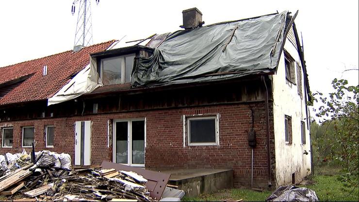 Najpierw pożar, później wichura. Żywioł strawił dom i hotel dla psów