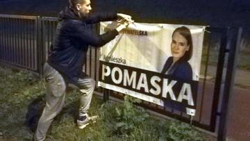 Politycy sprzątają po kampanii wyborczej. Pierwsza zaczęła Agnieszka Pomaska z KO