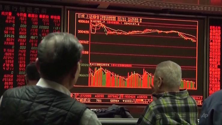 """Koronawirus uderzył w rynki finansowe. """"Czarny poniedziałek"""" na giełdach"""
