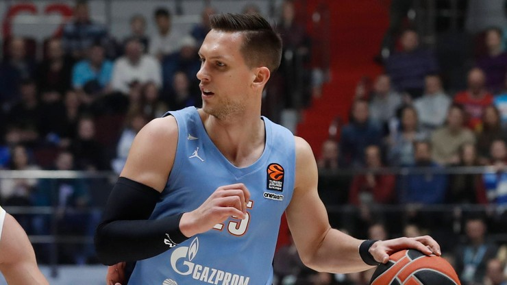 Euroliga koszykarzy: Mateusz Ponitka pomógł Zenitowi w wygranej