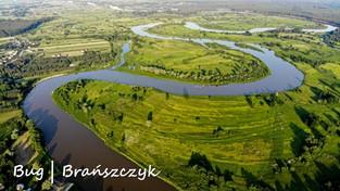 Polskie rzeki z lotu ptaka