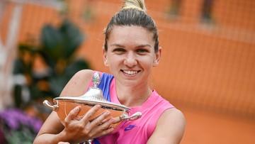 Turniej WTA w Rzymie: Triumf Halep, Pliskova wycofała się z gry
