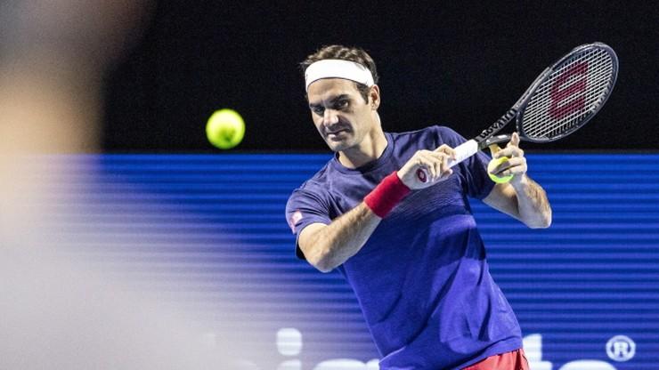ATP w Bazylei: Tsitsipas na drodze Federera do dziesiątego triumfu