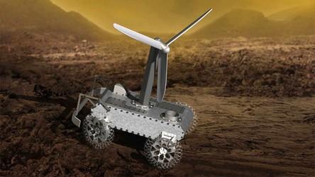 Pierwsza turbina wiatrowa poleci na Wenus. NASA chce umieścić ją na łaziku