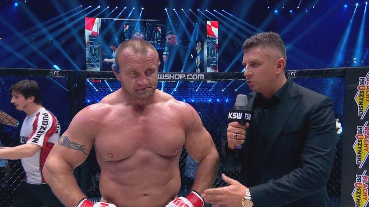 Pudzianowski: Wiedziałem, że Jun się na mnie rzuci