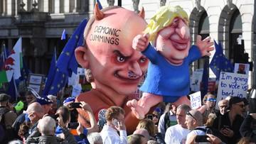 Wielka manifestacja w Londynie na rzecz drugiego referendum ws. brexitu
