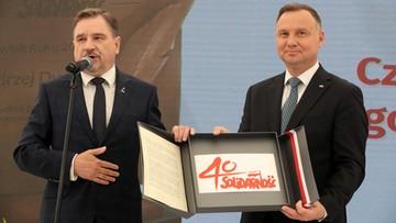 """Prezydent Duda Człowiekiem Roku 2019. Tytuł przyznał """"Tygodnik Solidarność"""""""