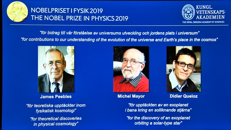 Nobel z fizyki nie dla Polaka. Nagrodą podzieli się trzech naukowców