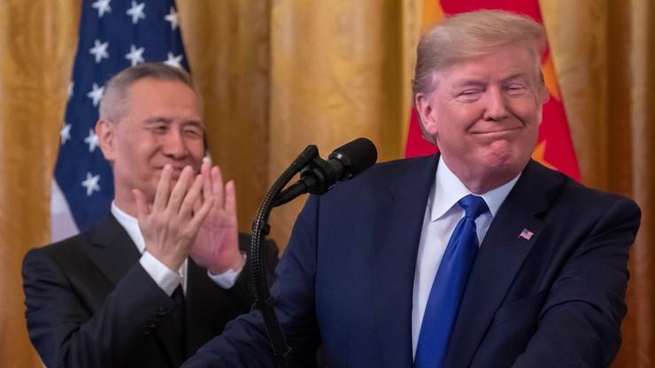 """Chiny i USA podpisały porozumienie handlowe. """"To ważny krok"""""""