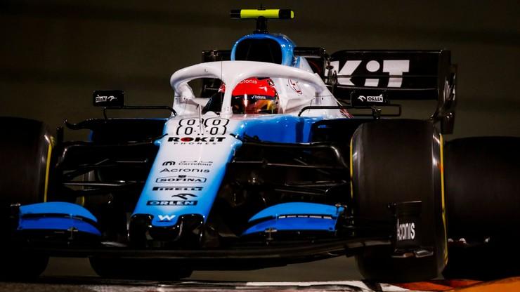 GP Abu Zabi: Kubica ostatni w kwalifikacjach, Hamilton najszybszy