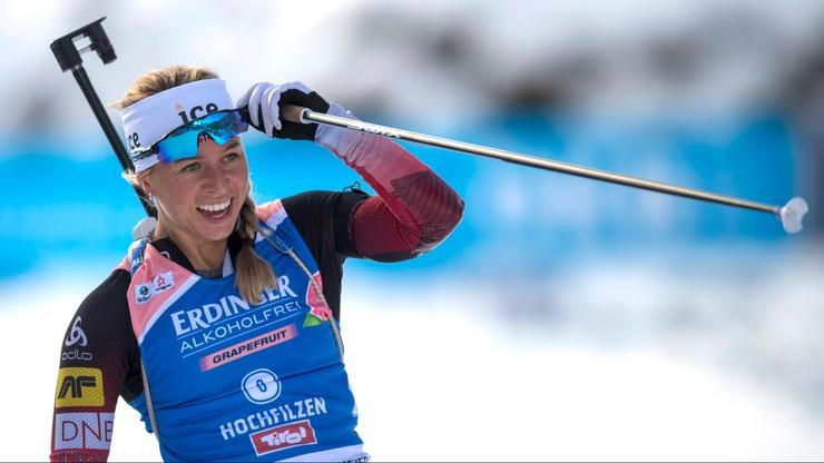 PŚ w biathlonie: Czwarta z rzędu wygrana Eckhoff, Polki nie startowały