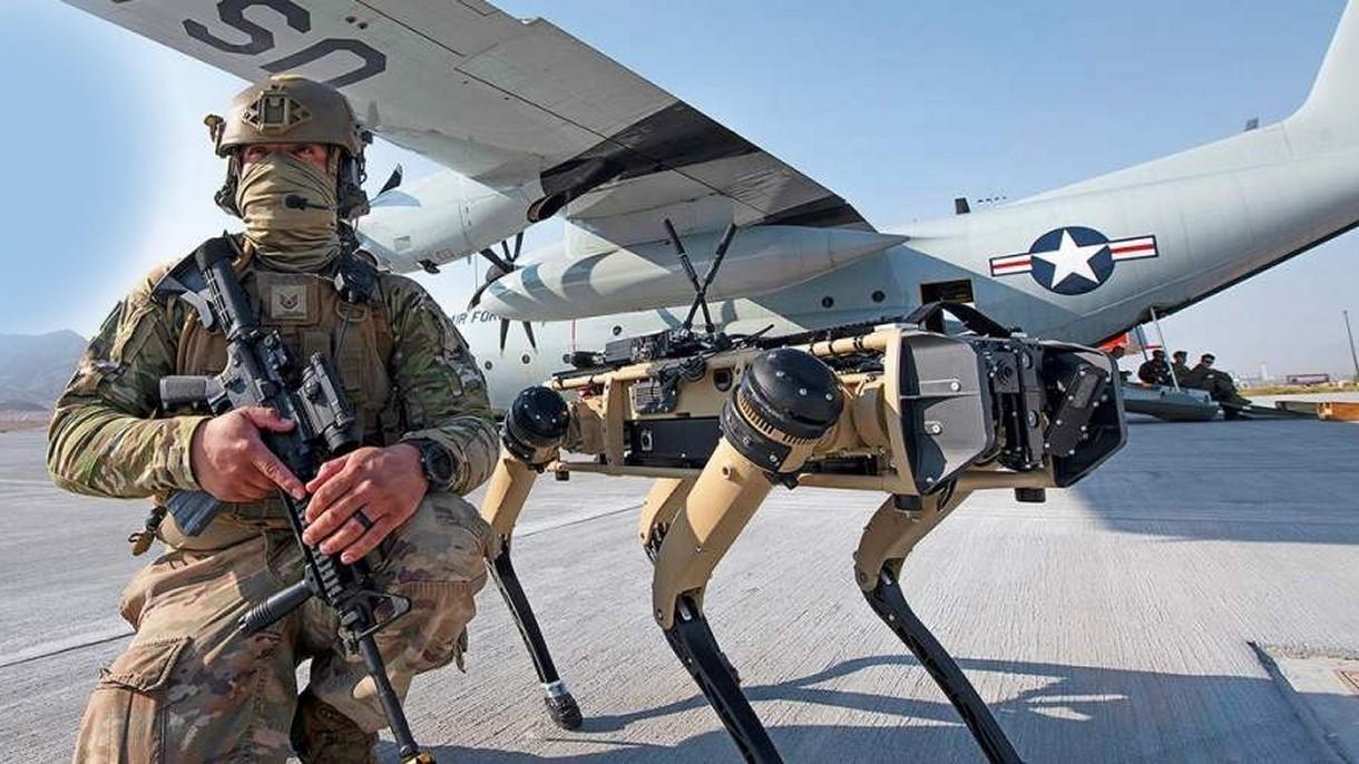 Pentagon stworzył symulację pola walki przyszłości z udziałem robo-psów [FILM]