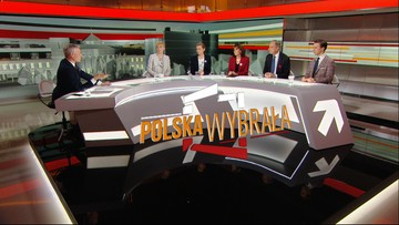 """""""Gomułka i Gierek nauczycielami PiS-u"""" vs """"uchwały SN nie mogło być"""". Spór o sądy w """"Polska Wybrała"""""""