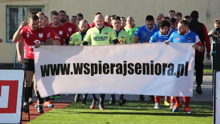 Rugbiści promują akcję #wspierajseniora