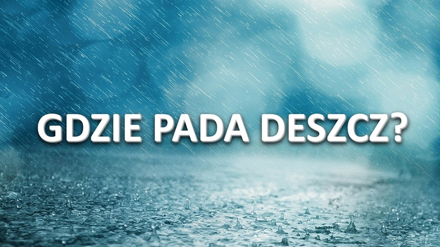 Pogoda na żywo: Gdzie są teraz deszcz i burze? Śledź je na mapach!