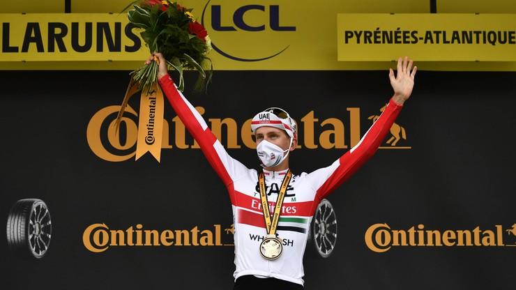 Tour de France: Tadej Pogacar wygrał 9. etap. Liderem Primoz Roglic