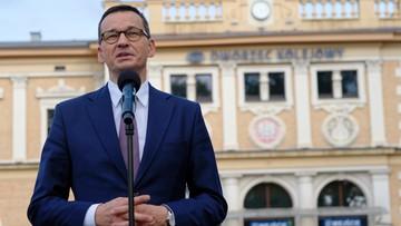 """Morawiecki zdradził, co robił w 1980 r. """"Nawet milicjanci nie utrudniali"""""""