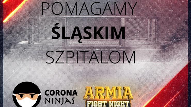 Armia Fight Night pomaga śląskim szpitalom