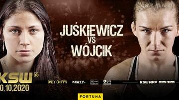 KSW 55: Sylwia Juśkiewicz zmierzy się z Karoliną Wójcik