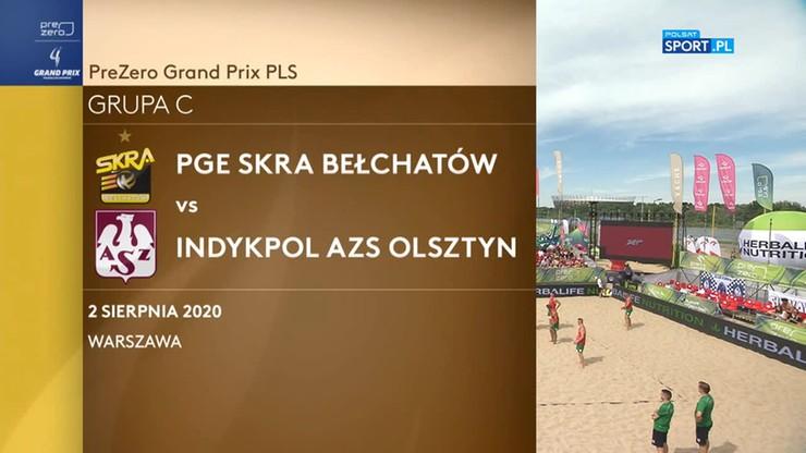 PGE Skra Bełchatów - Indykpol AZS Olsztyn. Skrót meczu