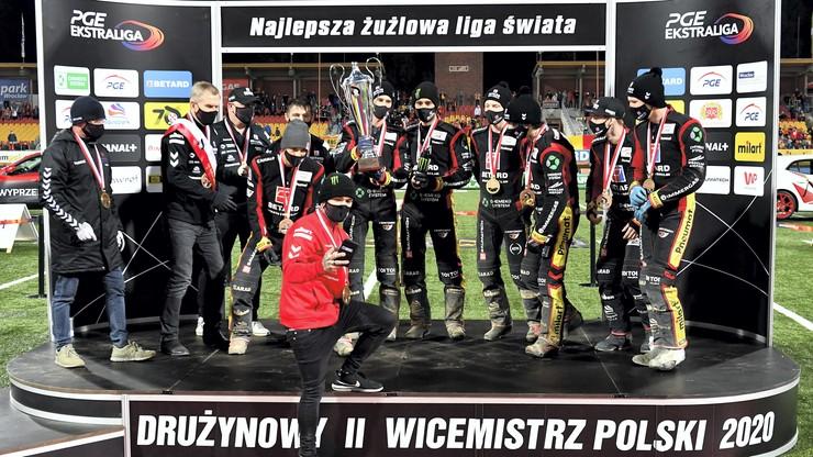 Ekstraliga żużlowa: Betard Sparta Wrocław brązowym medalistą