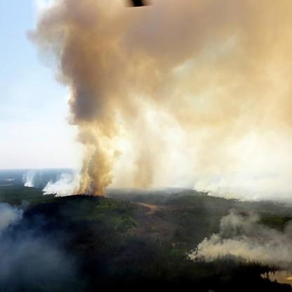 Upały są przyczyną pożarów. Do kwietnia ogień strawił 2 mln ha powierzchni