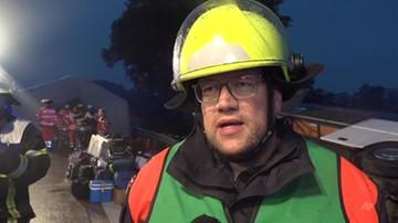 Wypadek polskiego autokaru w Niemczech. Są poszkodowani