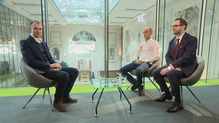 Robert Kubica wraca na tor. O wyścigach serii DTM mówi wywiadzie dla Polsat News