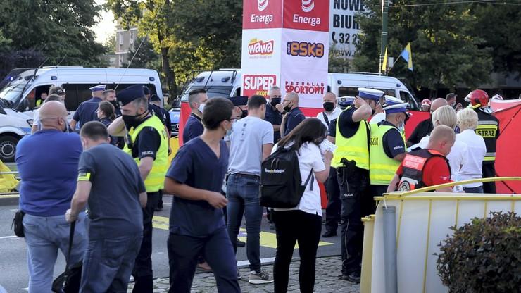 Tour de Pologne: Policja i prokuratura wyjaśniają okoliczności kraksy