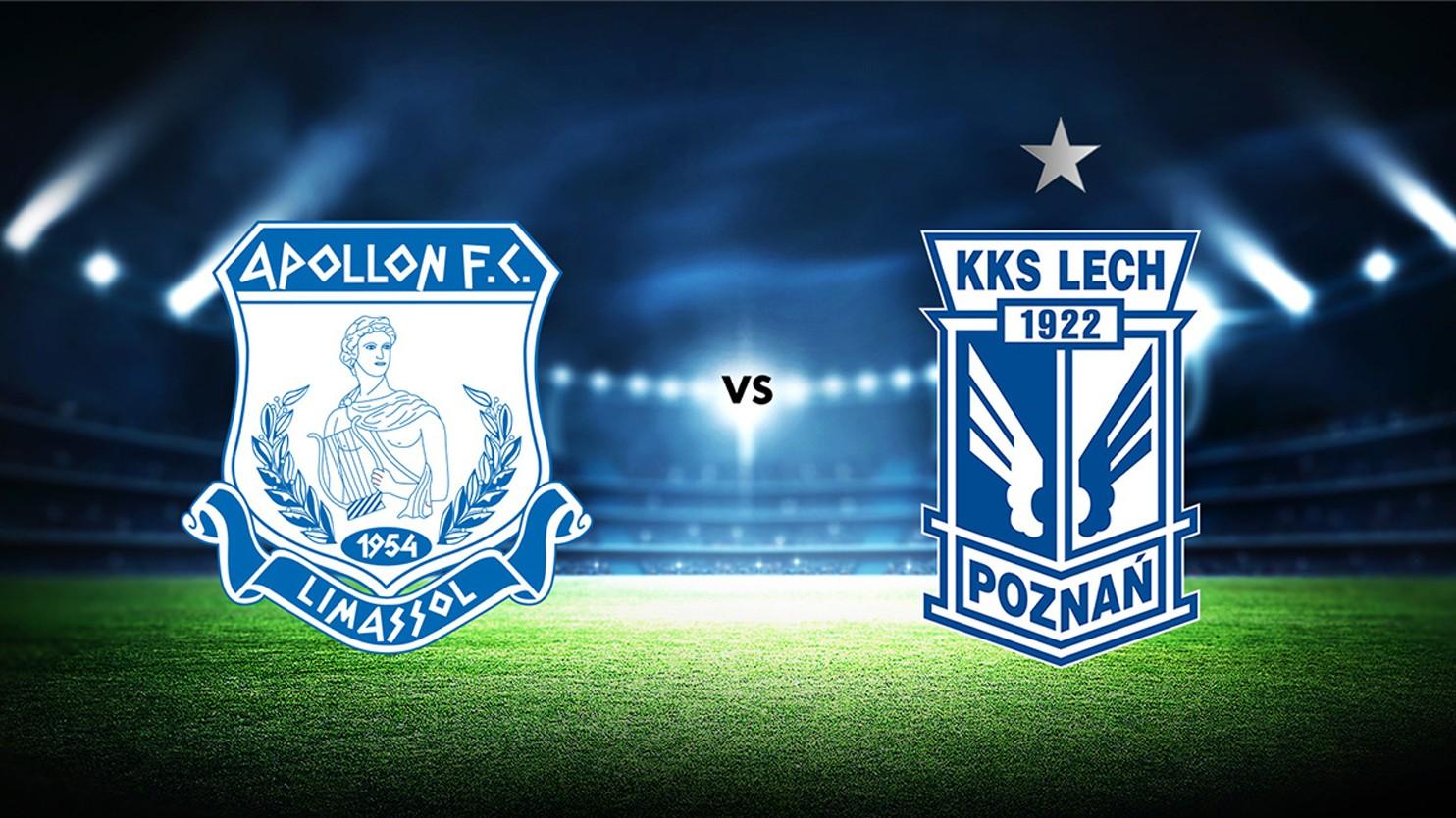Oglądaj mecz Apollon Limassol - Lech Poznań w Polsat Sport