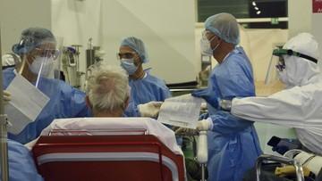 2020-04-07 Włochy: nie żyje 94 lekarzy, 26 pielęgniarzy i pielęgniarek zakażonych koronawirusem
