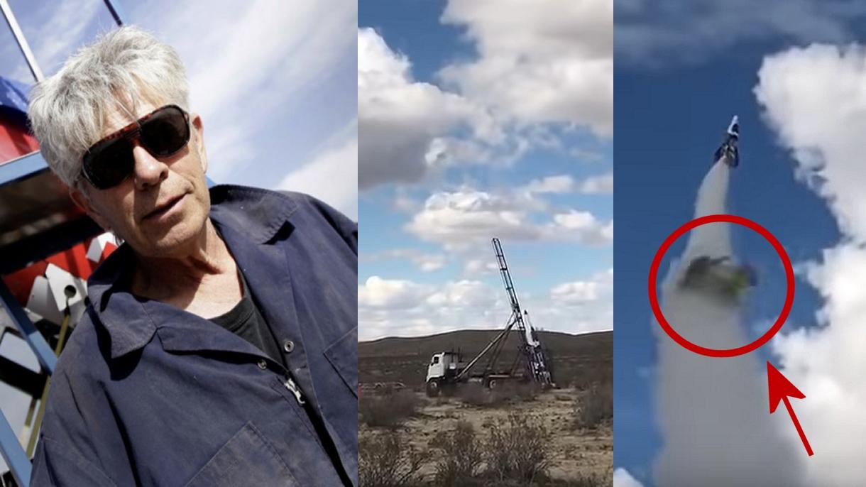 Płaskoziemca, Szalony Mike, zginął w trakcie lotu swoją rakietą na oczach telewizji