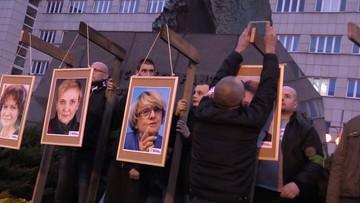 Sprawa wieszania na szubienicach zdjęć europosłów wraca do prokuratury