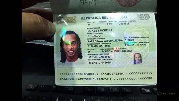 Ronaldinho zatrzymany przez policję. Chodzi o dokumenty tożsamości