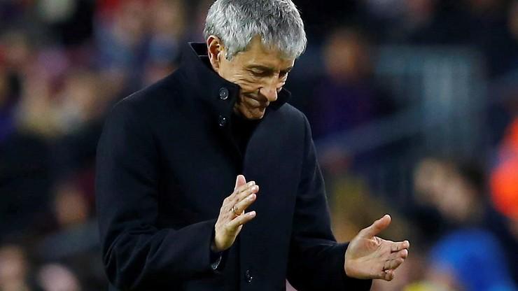 Nowy trener Barcelony narzeka na wiatr i trawę