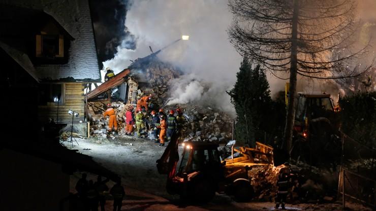 Akcja ratunkowa w Szczyrku. Ranny strażak
