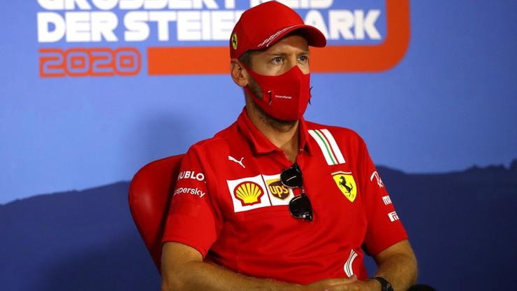 """Sebastian Vettel zabrał głos na temat swojej przyszłości. """"Nie wierzcie plotkarzom"""""""